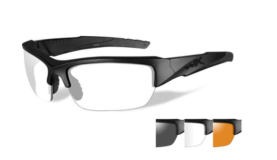 fd9c0cc54c8 Wiley X Valor Grey Clear Rust Matte Black Frame
