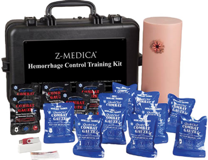 QuikClot Hemorrhage Control Training Kit LE
