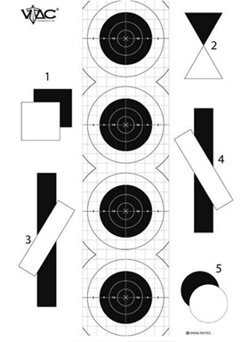 Viking Tactics VTAC Double Sided Tactical Target