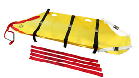 Skedco Complete HMH Sked Rescue System with strap kit (Assembled & Rolled)
